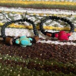 //Bequia Sea Turtle 🐢 Bracelet Pack//